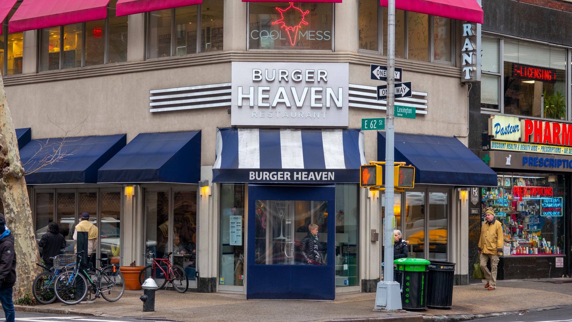 Burger Heaven NYC
