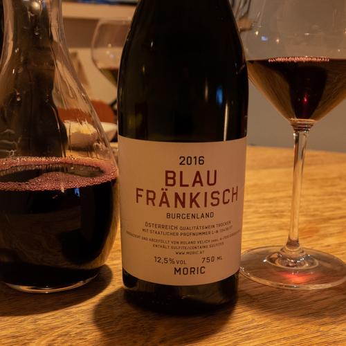 Moric Blau Fränkisch Austrian Wine